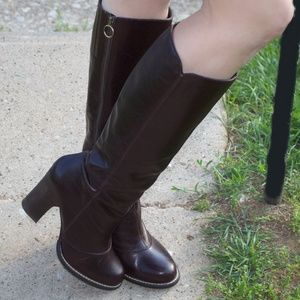 BCBGeneration Tall Brown Leather Boots
